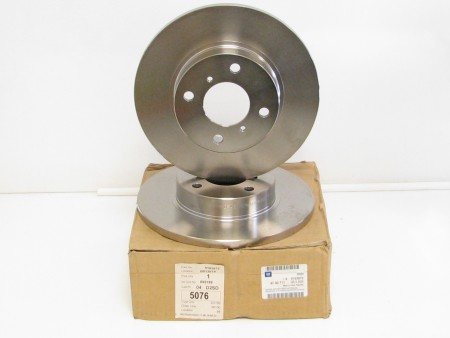 Agila A, Brand New Pair of Front Brake Discs 9193872
