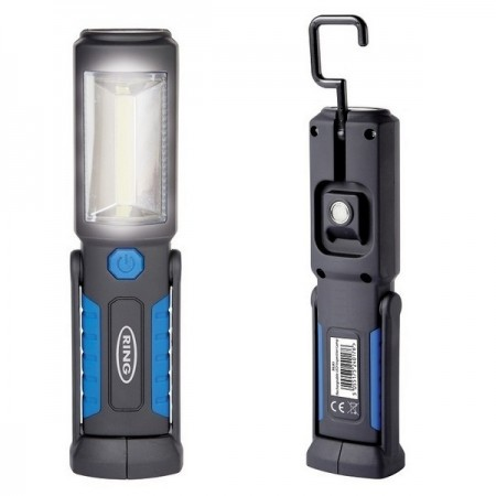 Ring Rechargeable Bright COB LED Inspection Lamp 200 Lumens