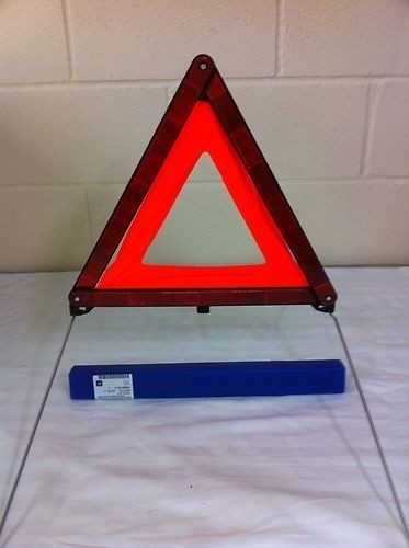 BMW Original Warning Triangle with Container First Aid Safety