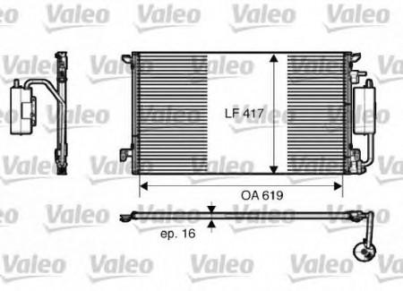 Valeo Air Conditioning Condenser