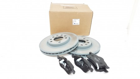 Vauxhall Front Brake Disc And Pad Kit