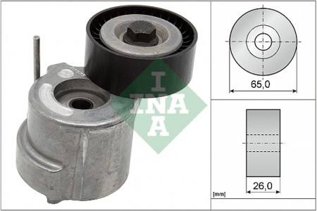 INA Auxiliary Drive Belt Tensioner V Ribbed