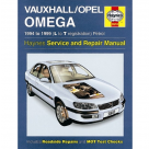 Vauxhall Vauxhall/Opel Omega Petrol (94 - 99) L to T Reg - Car Manual  3510A at Autovaux Genuine Vauxhall Suppliers