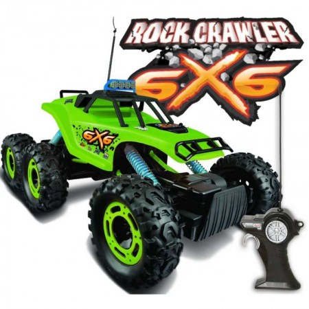 Maisto Remote Controlled 6X6 Rock Crawler Off Road