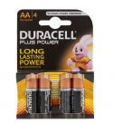 Vauxhall Duracell Plus AA Alkaline Batteries - 4 Pack MN1500 at Autovaux Genuine Vauxhall Suppliers