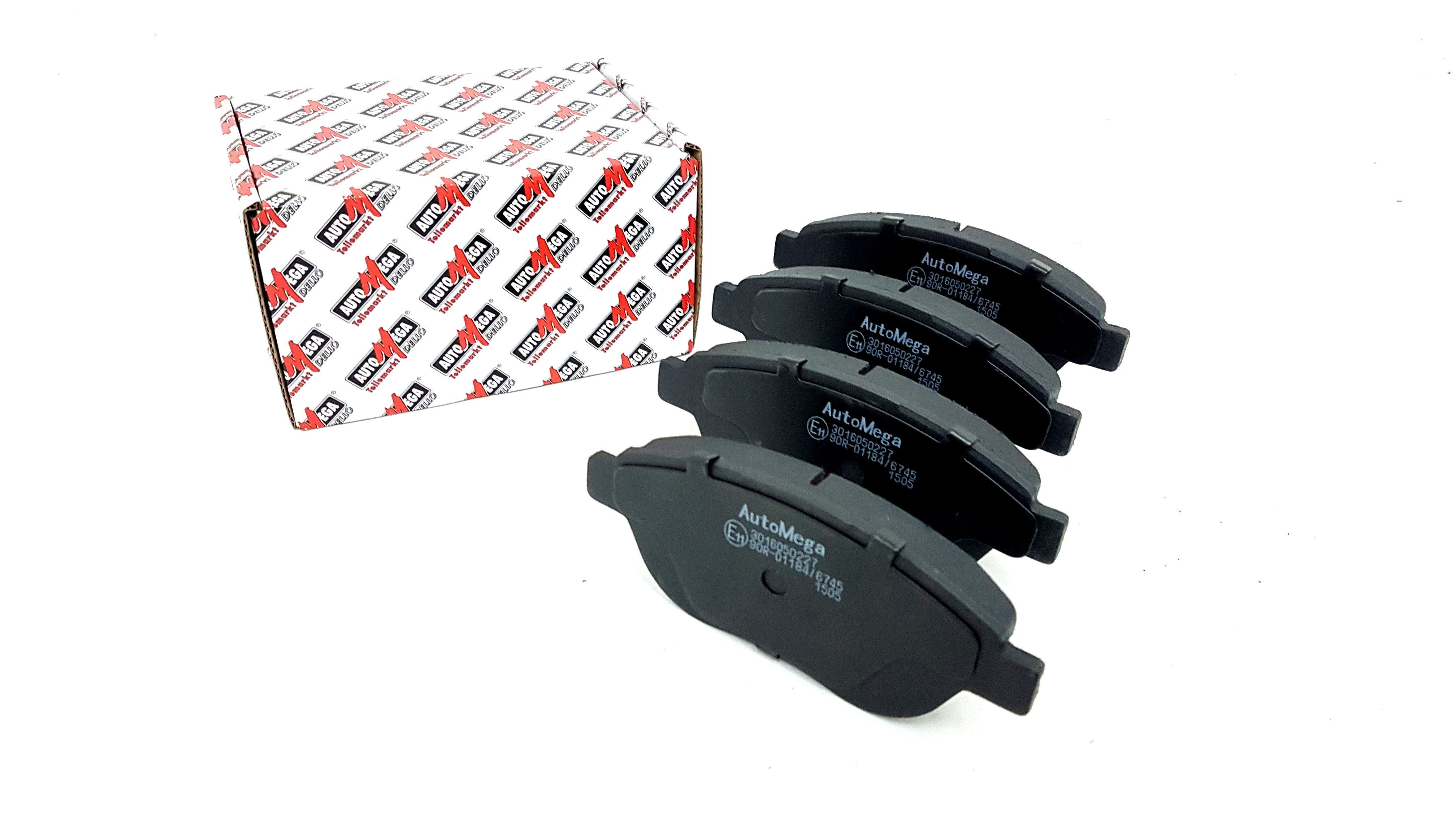 Front Brake Pads For Fiat 500L 0.9 0.9 CNG