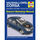 Vauxhall Vauxhall Opel Corsa (Sep 06 - 10) - Car Manual  4886B at Autovaux Genuine Vauxhall Suppliers