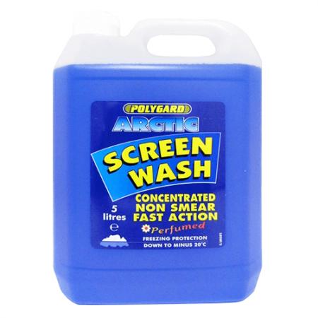 Polygard Arctic Screen Wash - 5 Ltr