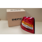Vauxhall Vauxhall Vectra C Hatchback Passenger Side Rear Lamp 93174902 at Autovaux Genuine Vauxhall Suppliers