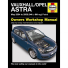 Vauxhall Vauxhall/Opel Astra Petrol (May 04 - 08) 04 to 08 Reg - Car Manual 4732A at Autovaux Genuine Vauxhall Suppliers