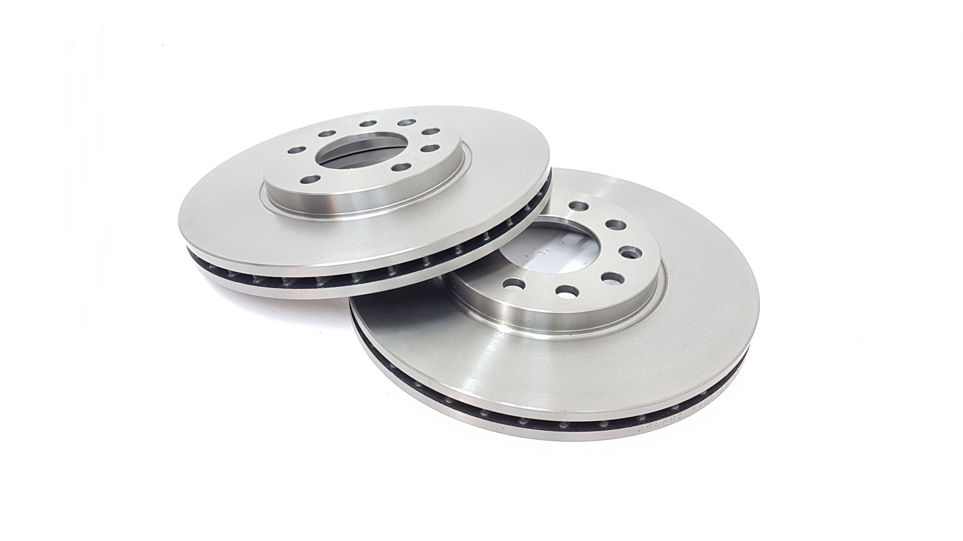 Front Vented Brake Discs Opel Astra 1.8 16V Coupe 2000-05 125HP 280mm