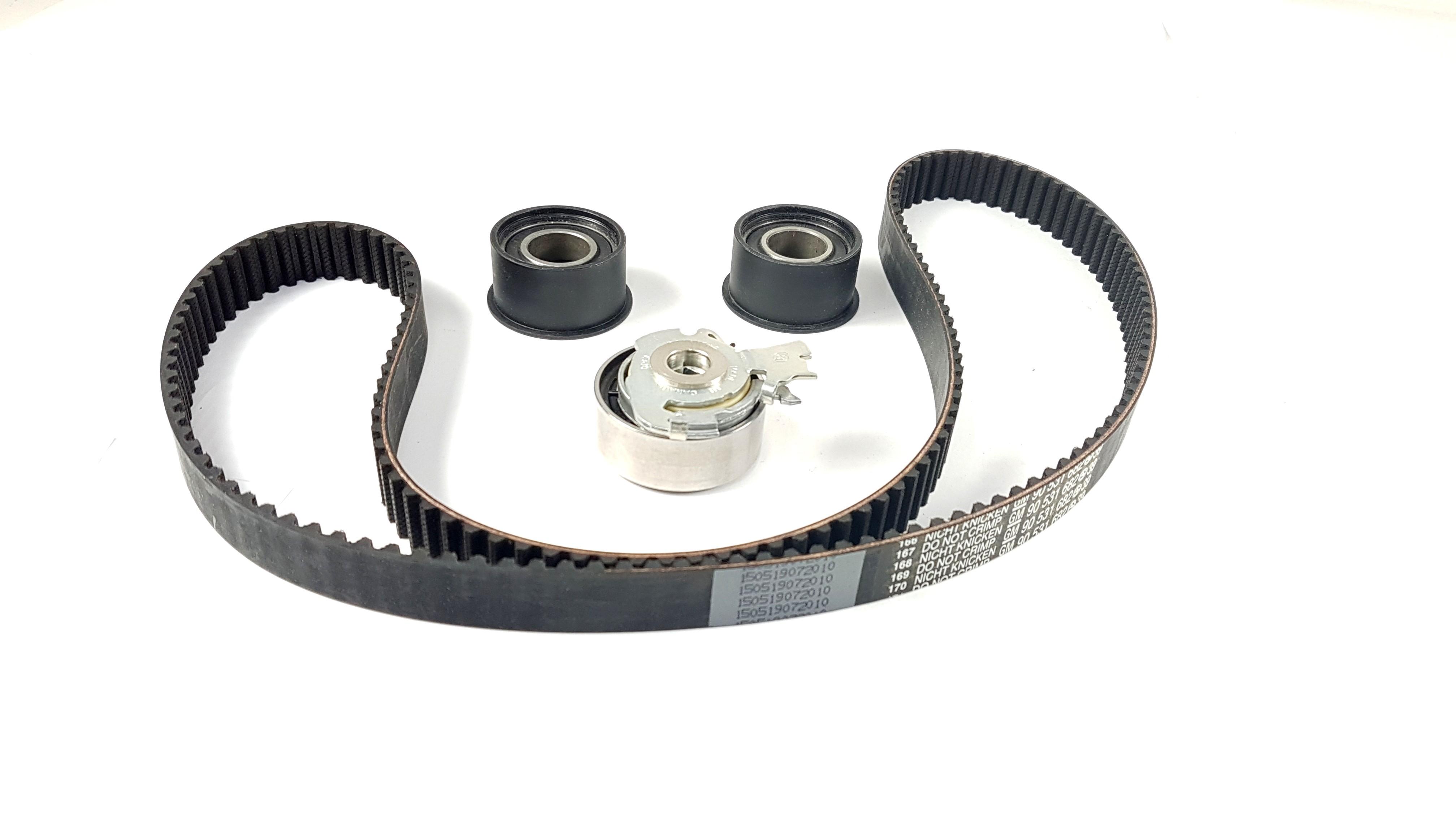 genuine vauxhall astra f vectra b timing belt kit