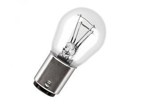 93190467 12v 5w 21w Stop Amp Tail Light Bulb Genuine Hella